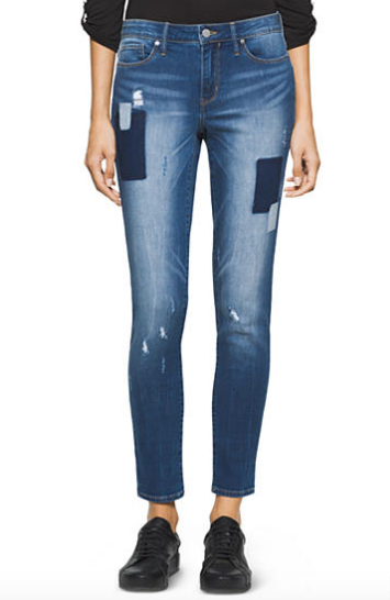 Calvin Klein Patchwork Jeggings