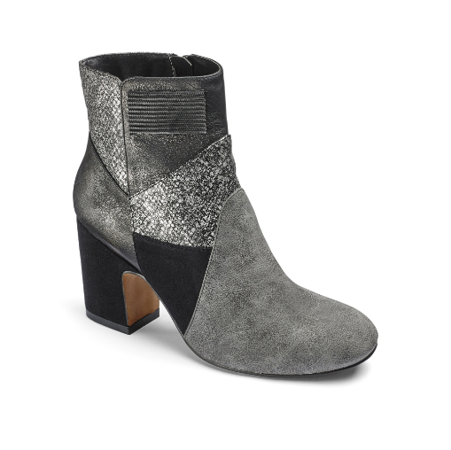 Sole Diva Patchwork Boots