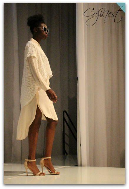 Hi-lo Layers from Birmingham Fashion Week