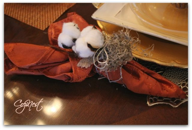 DIY Fall Napkin Ring