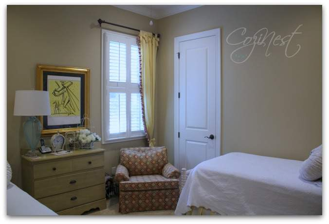 Cottage Style Guest Room