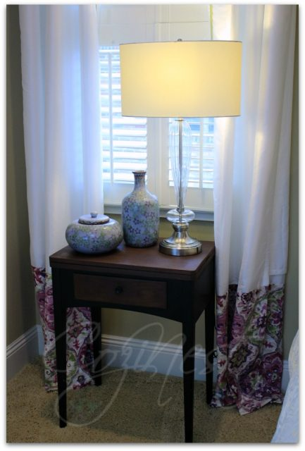 Updated Store-bought Curtains