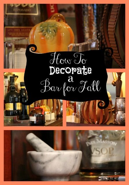 How to Decorate a Bar for Fall