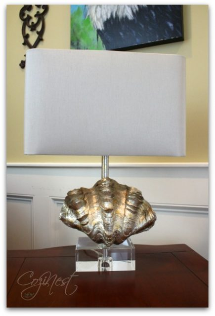 gold-shell-lamp