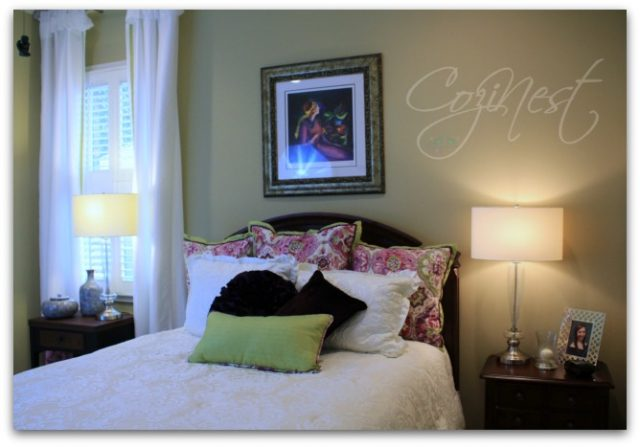 Orchid Inspired Guest Room