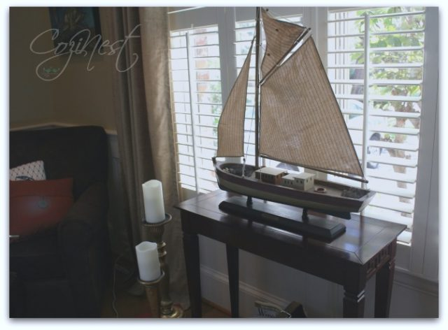 Sailboat in Window