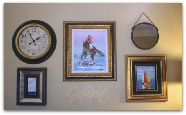 mixed metal picture frames
