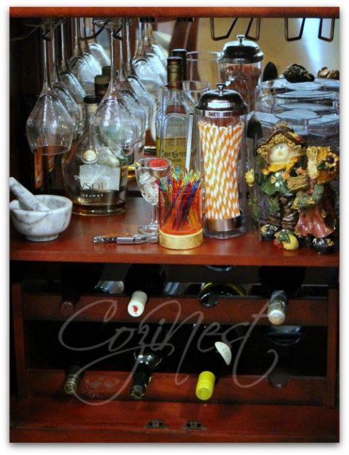 Wine Bar Storage