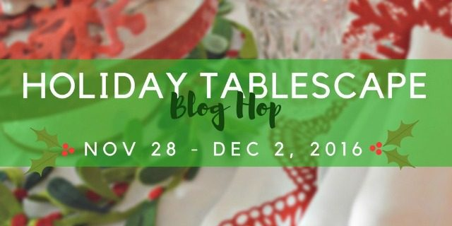 holiday tablescape blog hop