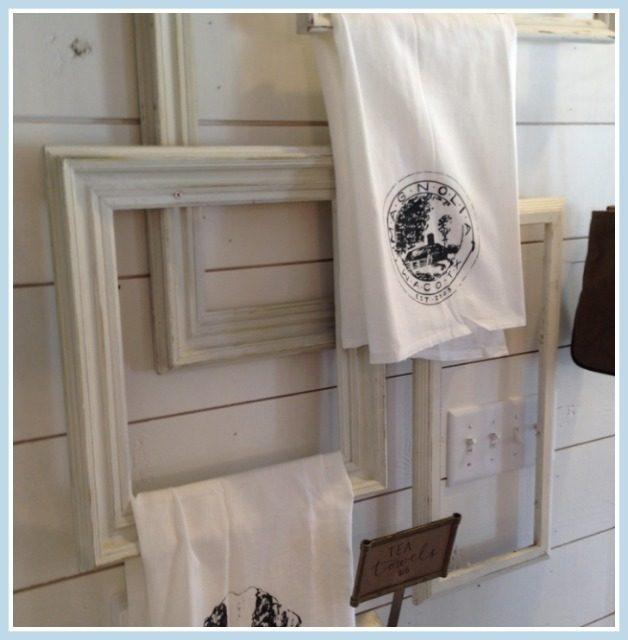 Tea Towel Display from Carley Kelley