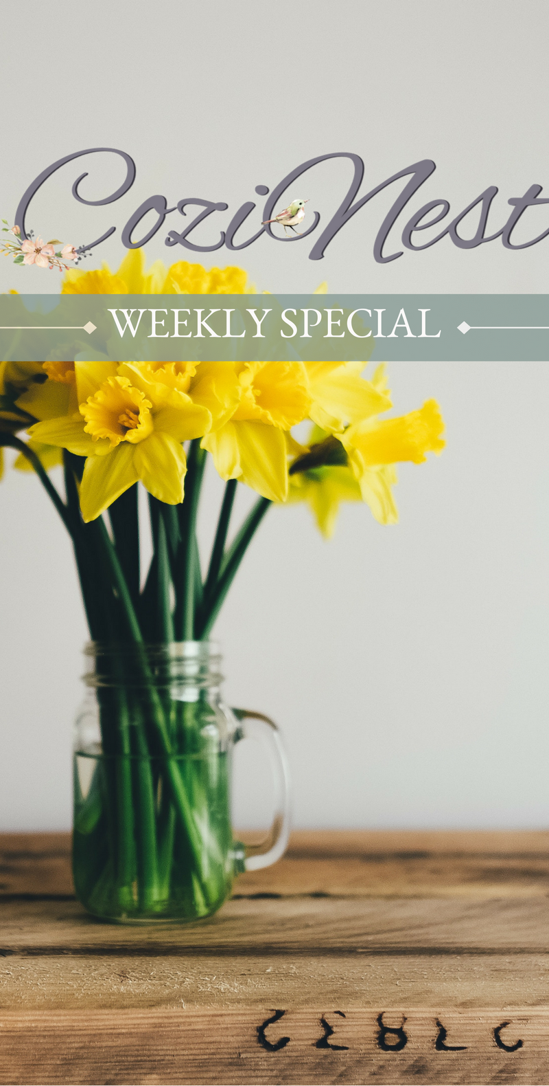 The Sweet Aroma of this Weekly Special March 12, 2018