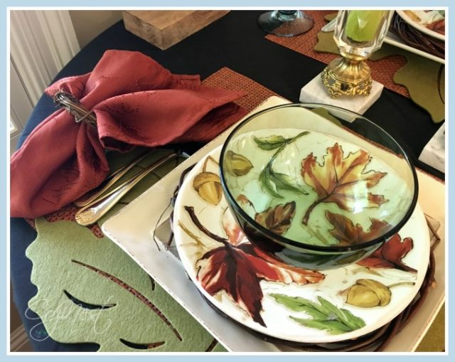 layered placemats