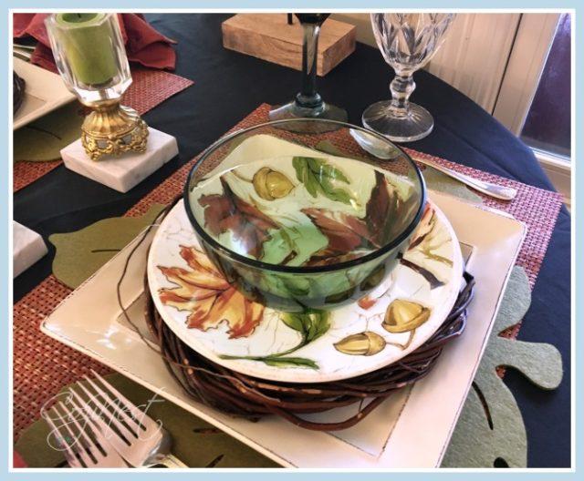 Autumn Leaves Salad Plates