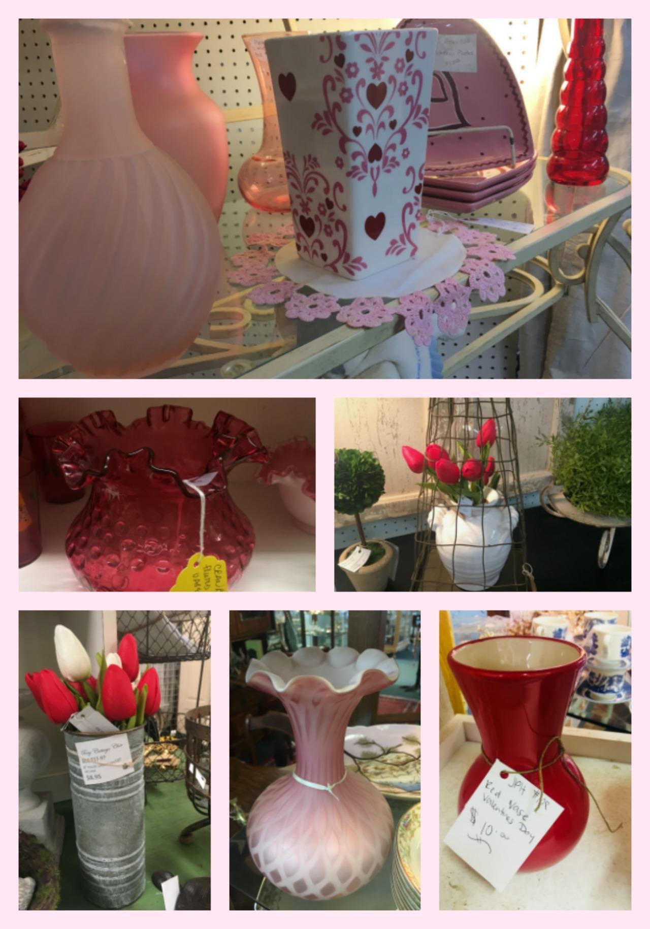 Valentine's Vases