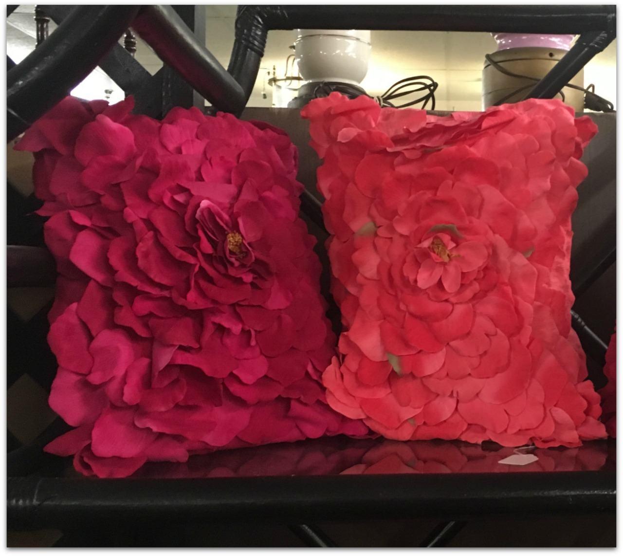 Rose Petal Pillows