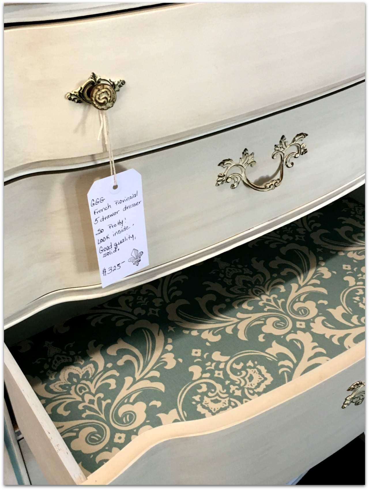 drawer lining