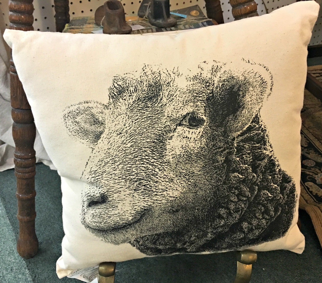 special sheep pillow