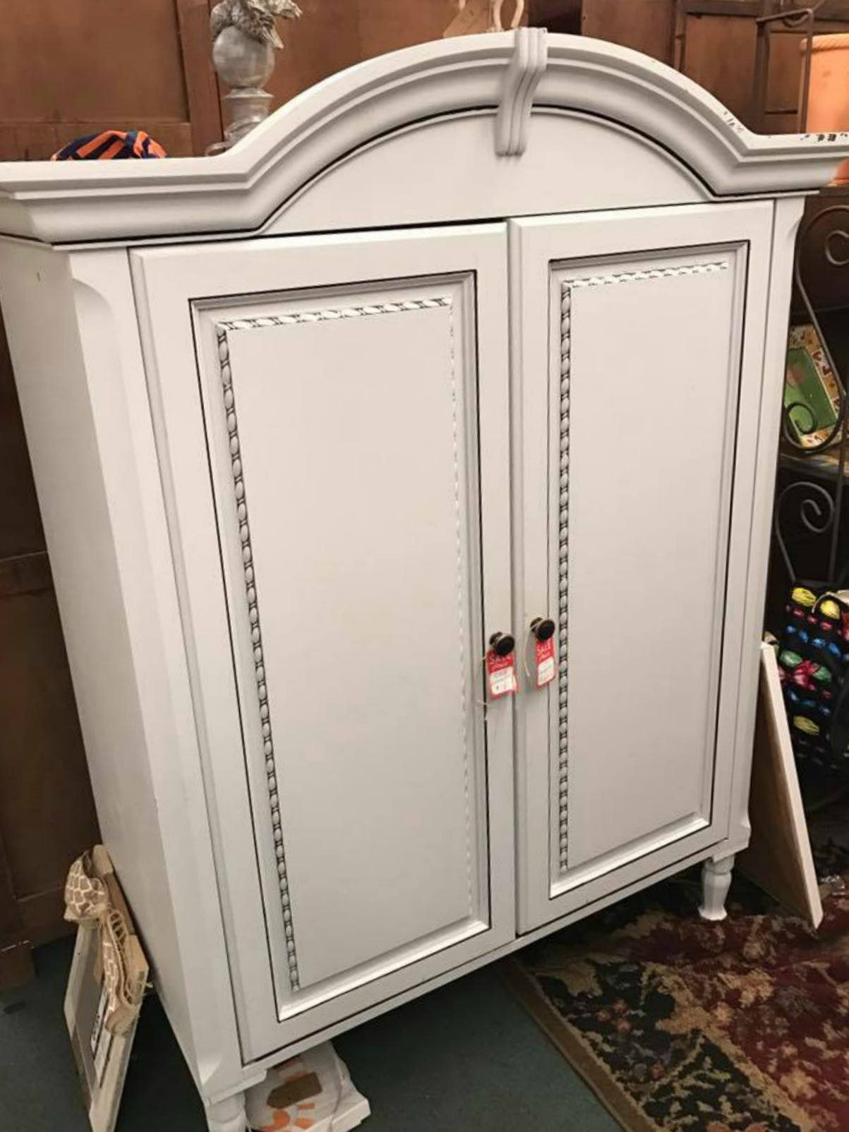 Upcycling in Daphne, Alabama - Armoire Hutch