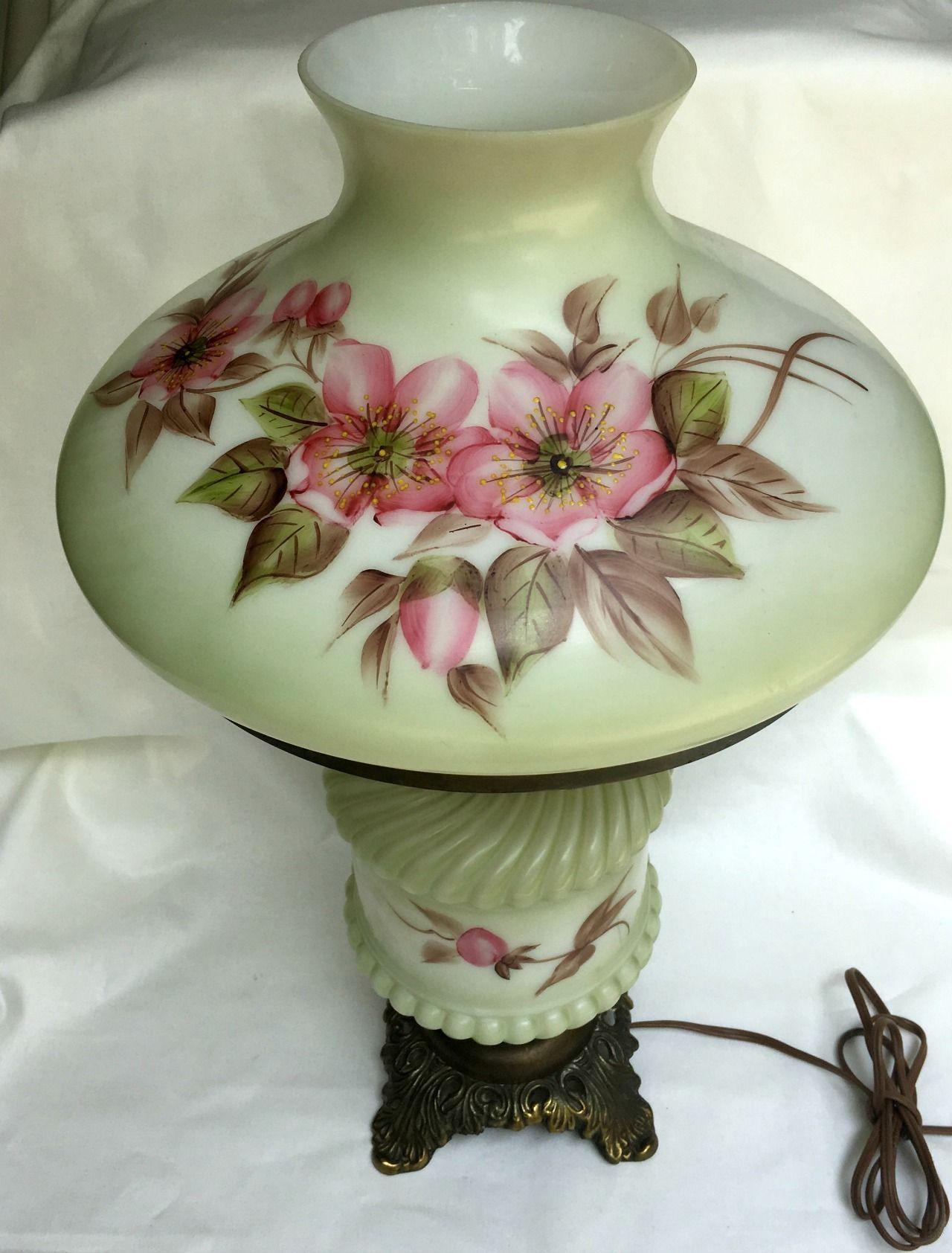Vintage Double Globe Lamp