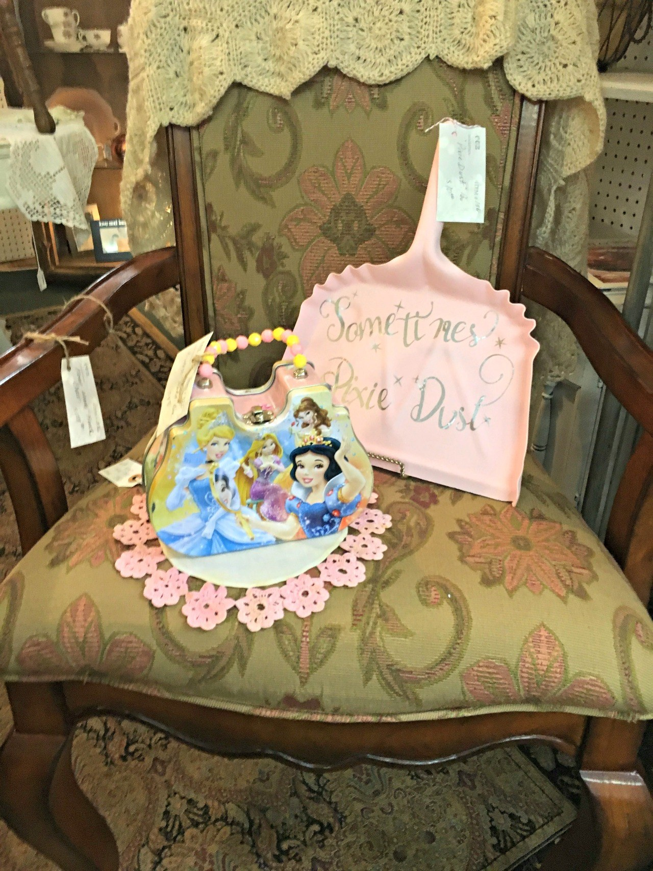 Princess Purse and Dust Pan