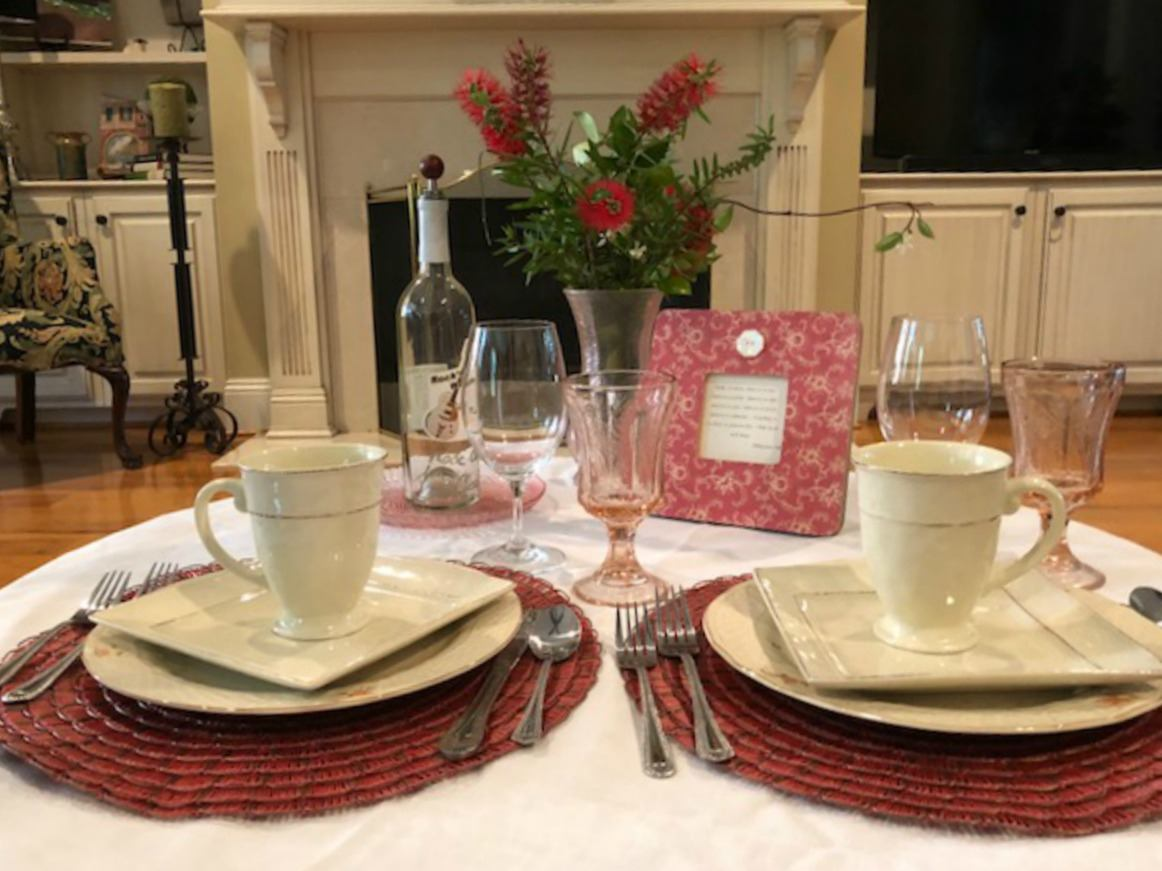 two table settings