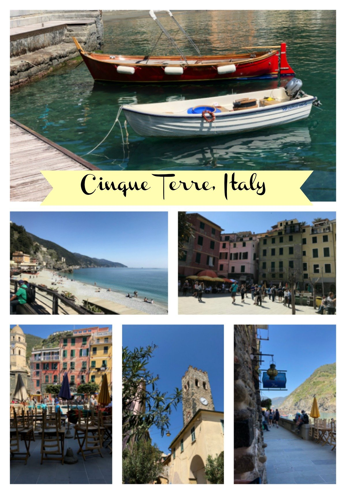 Vernazza and Monterosso
