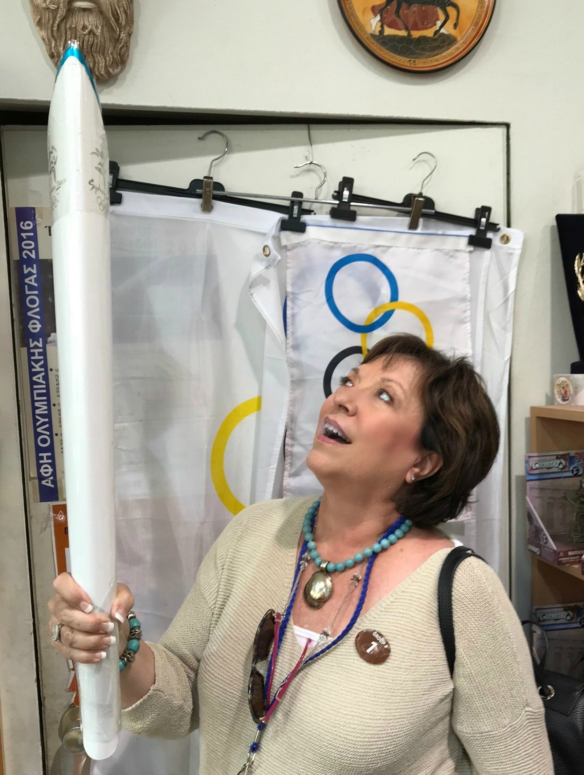 olympic torch replica