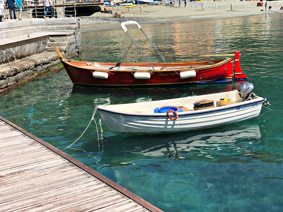 Two Boats of Cinque Terre
