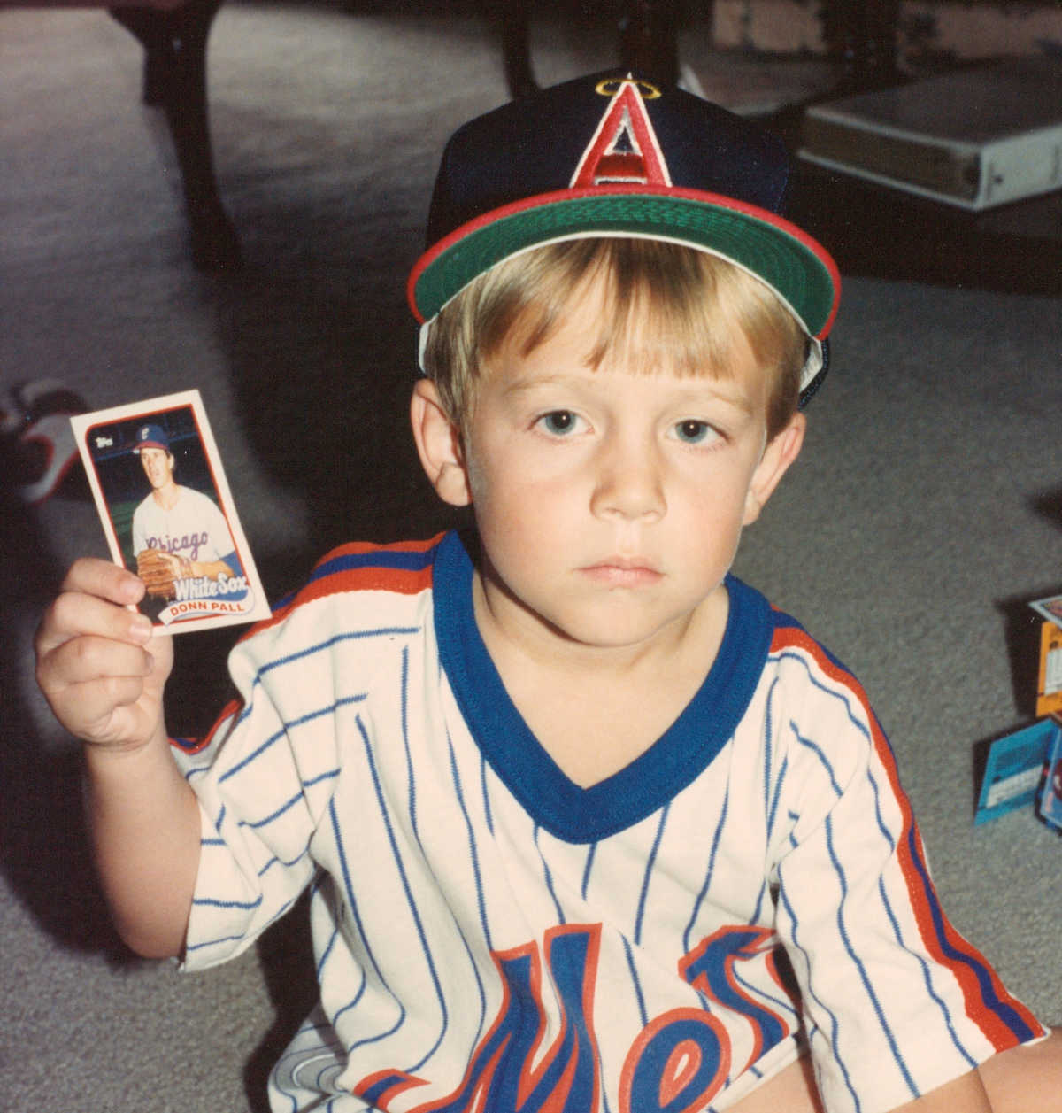 Baseball Card Collector