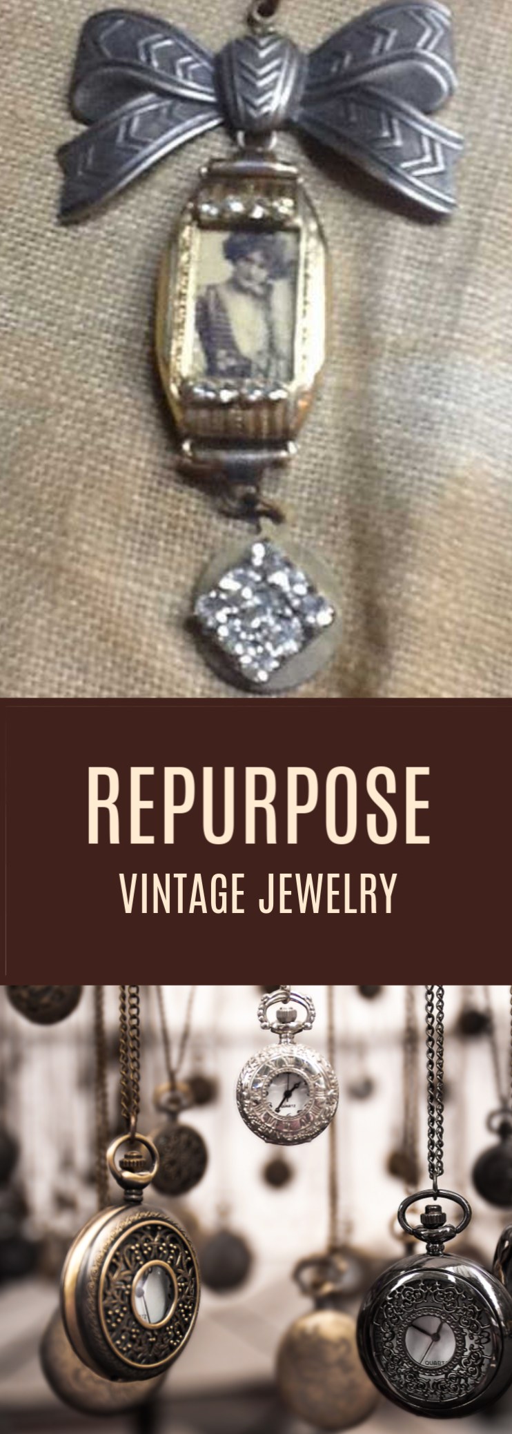 Repurpose Vintage Jewelry